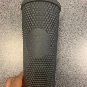 Starbucks tumbler black